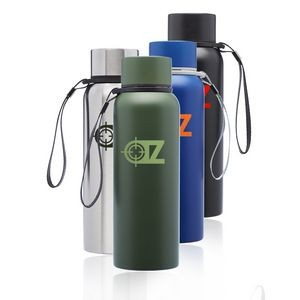 The Marshall Vacuum Stainless Steel Drink Bottle